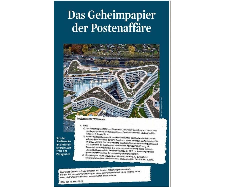 2021-06-19-KSTA-Das Geheimpapier der Postenaffäre